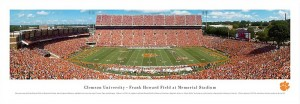 Frank Howard Field memorial stadium print