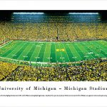 Michigan Stadium Print