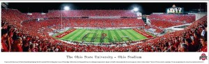 Ohio State Sadium Print