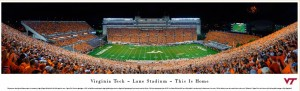 Lane Stadium Panoramic Print