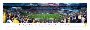 West Virginia Mountaineer Field Stadium Print