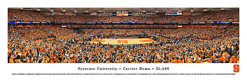 Carrier Dome Panoramic Print