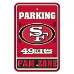 San Francisco 49ers Parking Sign