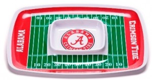 Alabama chip and dip tray