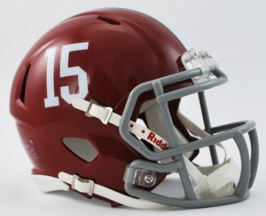 Alabama mini helmet