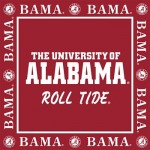 Alabama Luncheon Napkins