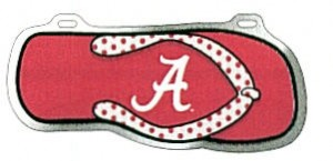 Alabama Flip Flop License Plate