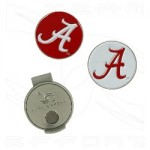 Alabama Hat Clip and Ball Markers