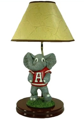 Alabama mascot lamp