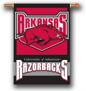 Arkansas Razorbacks House Flag