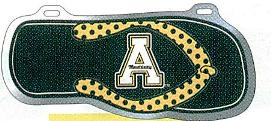 Appalachian State Flip Flop License Plate