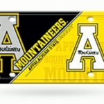 Appalachian State License Plate