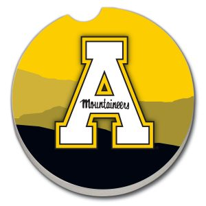 Appalachian State Car Coasters
