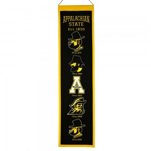 Appalachian State heritage banner