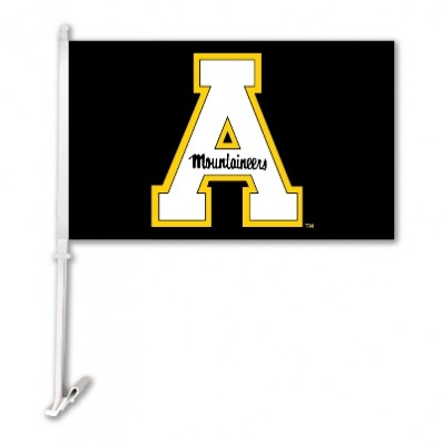 Appalachian State car flag