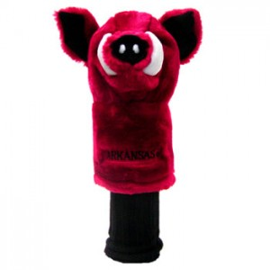 Arkansas Razorbacks golf headcover