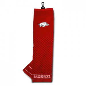 Arkansas Razorbacks Golf Towel