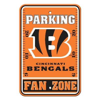 Cincinnati Bengals Parking Sign