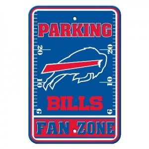 Buffalo Bills Parking Sign