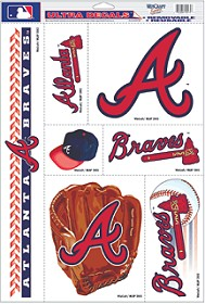 Atlanta Braves Decals