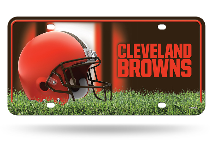 browns-license-plate