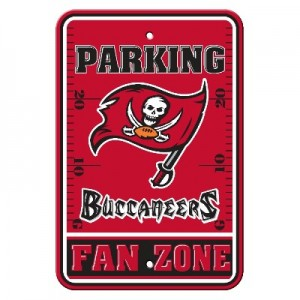 Tampa Bay Bucs Parking Sign