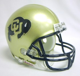 Colorado Buffaloes Mini Helmet