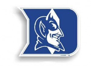 Duke car magnet