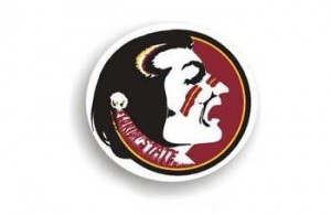 Florida State car magnet