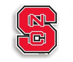 NC State car magnet