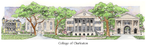 College of Charleston watercolor