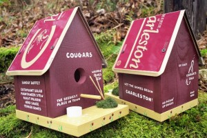 College of Charleston birdhouse