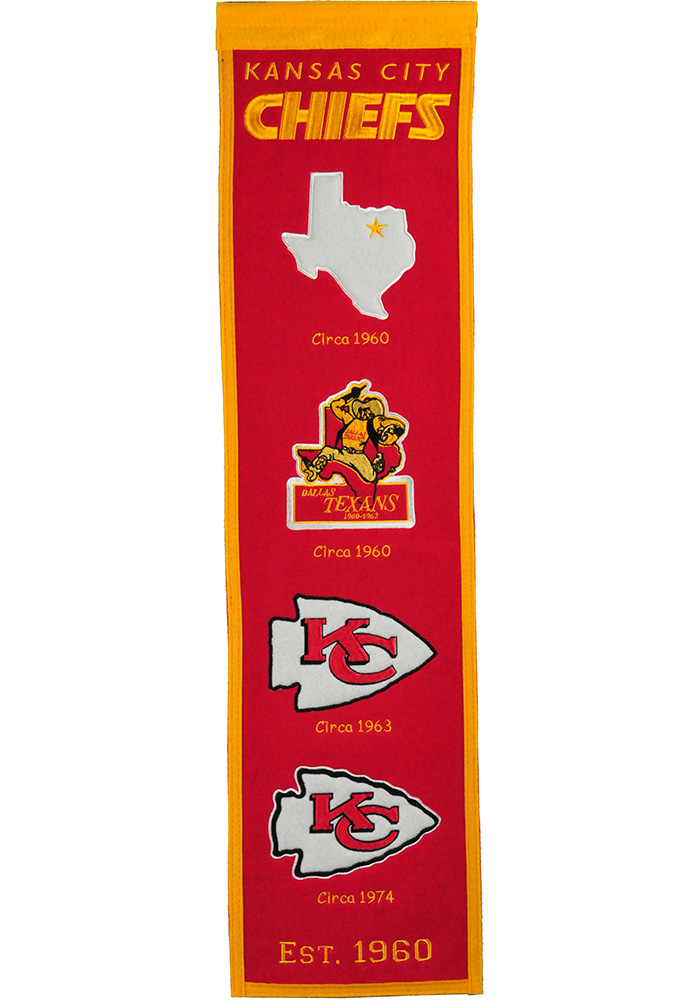 Kansas City Chiefs Heritage Banner