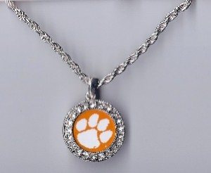Clemson necklace