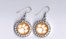 Clemson earrings