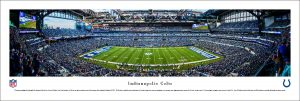 Indianapolis Colts Lucas Oil Stadium Print