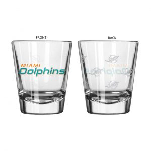 Miami Dolphins Shot Glass