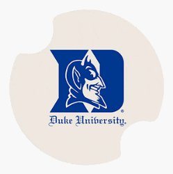 Duke car coasters