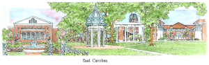 East Carolina watercolor