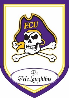 East Carolina Personalized Garden Flag