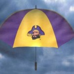East Carolina golf umbrella
