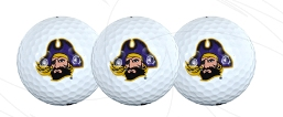 East Carolina golf balls
