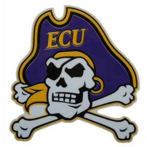 East Carolina Car Magnet