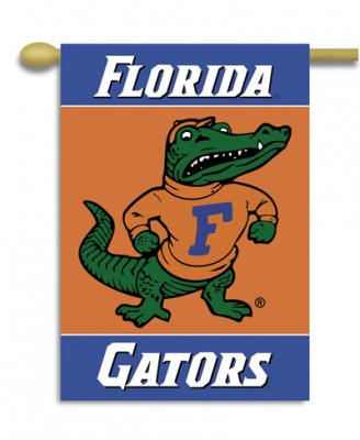 Florida Gators house flag