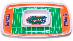 Florida Gator chip and dip