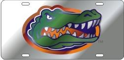 Florida Gators Mirrored License Plate