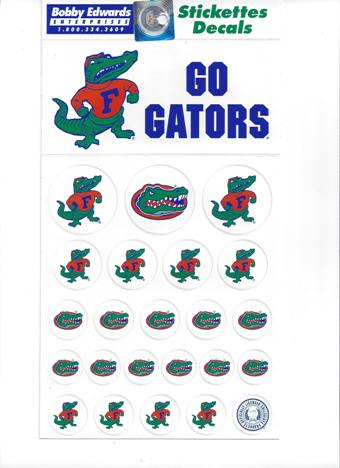 florida gator stickers