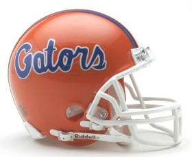 florida gator mini helmet