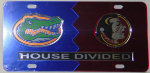 Florida Florida State House Divided License Plate