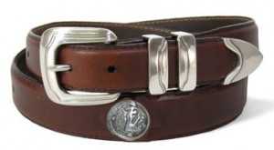 florida state leather belt